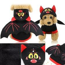 Pet Cat Puppy Costume Christmas Halloween Jumpsuit Bat Spider Apparel Cosplay