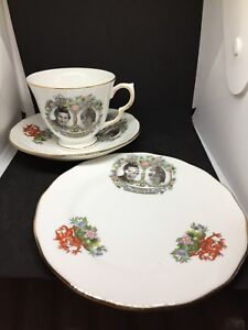 1981 HRH The Prince of Wales & Lady Diana Spencer Royal Wedding China Tea Cup