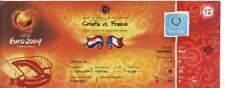 Euro 2004   Croatia  v  France   In Leiria    Complete  Unused