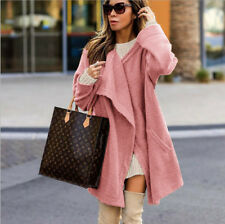 Plus Size Womens Winter Warm Jacket Ladies Winter Trench Outwear Long Baggy Coat