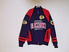 Chicago Blackhawks Jacket Large Carl Banks Glll Mens Exclusive Design  NEW