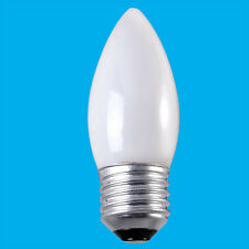 4x 25W Opal Candle Dimmable Incandescent ES E27 Edison Screw Light Bulb Lamp