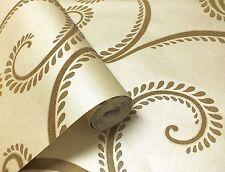 Anoushka, Luxury glass bead wallpaper in cream by holden decor (99230)