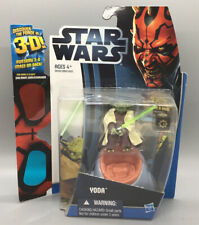 Star Wars Yoda from 2012 Discover the Force TPD 3D Walmart Exclusive - MOC