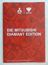 Mitsubishi Diamant Edition - Space Star Lancer ASX - Prospekt Brochure 09.2014