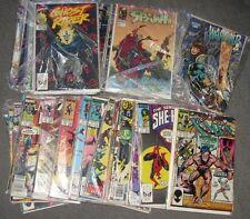 LOT SALE Comic Book X-Men Spawn Warchild Ghost Rider Spider-man The Punisher