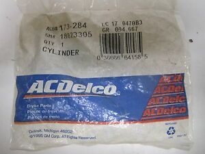 86-05 GM ACDelco Rear Wheel Cylinder Kit NOS 173-284 18023305