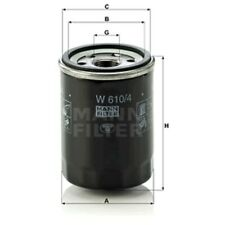 Mann Oil Filter Spin On For Nissan Note 1.4