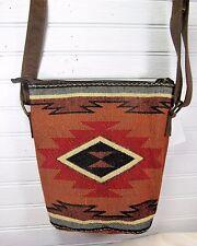 Hand Bag Crossbody Style Tapestry Jacquard Cibola  Pattern