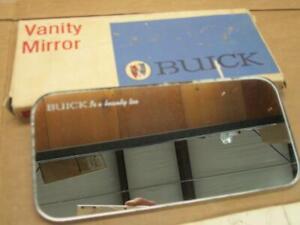 "vintage Buick NOS Vanity Mirror "" Buick is a Beauty too"" Script  GM 981521"