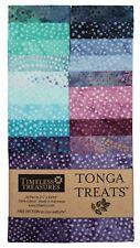 "Timeless Treasures Batik Tonga Treats - Plume - (20) 2.5"" Jelly Roll Strip"