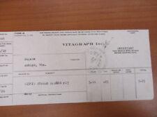 Vintage Movie Letterhead Vitagraph Inc Purple Riders Joe Ryan Elinor Field 1921