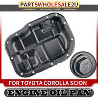 Lower Engine Oil Pan for 2009-2017 Toyota Corolla Matrix Prius 1.8L