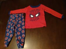 2T 24 Months Lot Toddler Boys Pajamas Spiderman and Paw Patrol