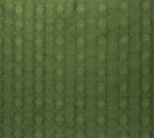 """DUPIONI SILK SHALIMAR BARLEY GREEN S3015 GEOMETRIC TRELLIS FABRIC BY YARD 54""""W"""