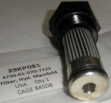 4730-01-570-7725 FMTV Hydraulic Filter Element  Oshkosh 29KP081