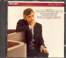 BACH - Italian Concerto / French Overture / 4 Duetti - Jean Louis STEUERMAN
