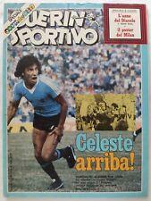 GUERIN SPORTIVO 3/1981 + POSTER MILAN MUNDIALITO COPA DE ORO VINCE URUGUAY AC/DC
