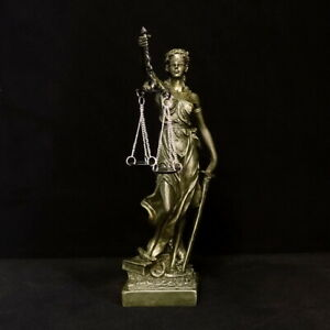 Dekofigur Justitia Göttin der Gerechtigkeit Anwaltskanzlei Gericht Recht IM