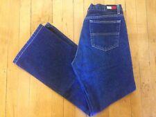 8934c417fb0b6 Vintage 90 s TOMMY HILFIGER Women s 13 High Waist Flare Dark Denim Mom Jeans