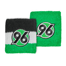 Hannover 96 Schweißband Logo 2er Set s-w-g/Grün