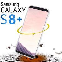 Cover Trasparente per Samsung Galaxy S8 Plus Custodia Fronte Retro 360° o PANNO