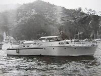 Vintage Yacht Catalina Island Photo Glissando Avalon W.E. Upton LA Honolulu Race
