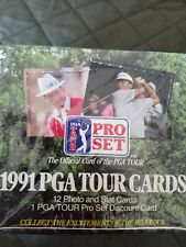 1991 PRO SET ~ PGA ~ TOUR CARTES DE COLLECTION GOLF ~ BOÎTE SCELLÉE (36 Packs)