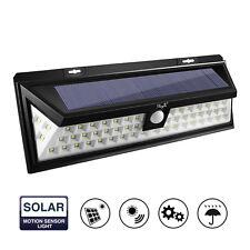 Kingso 54 LED Solar Light Motion Sensor Outdoor Bombilla Jardín Impermeable Luz