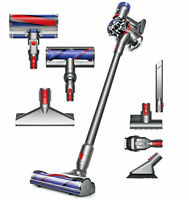 Dyson V8 Absolute Cord-Free Motorhead Vacuum Cleaner Iron + Mattress Tool Bundle