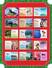100 Visitenkarten, Design-Card ausgestalten und drucken