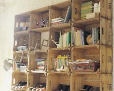 VINTAGE Pera in legno/cassette da frutta-RUSTICO VECCHIO ingiustificata modestia BOX-Shabby Chic Storage