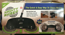 Mighty Sweeper Automatic Spinning Broom Cordless No Batteries Required Light Tv*