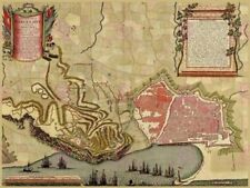 Maps Vintage Decorative Posters & Prints