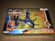 Power Rangers Dino Thunder Blue Ranger Raptor Rider Figure Vehicle Error
