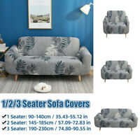 Sofa Covers 1/2/3 Seater Stretch Lounge Slipcover Protector Couch Washabl