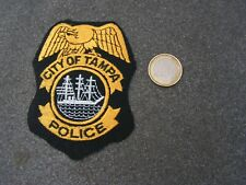 PATCH  police    us   city of tempa