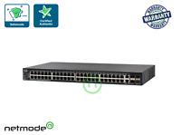 New Cisco SG550X-48P-K9 550X Series 48 Port PoE Gigabit Managed Switch 4x 10GE