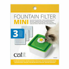 Catit Cat Drinking Water Mini Flower Fountain Replacement Filters Pack of 3