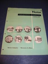 Norton Refractory Co 1953 Catalog Saint-Gobain Abrasives Asbestos History