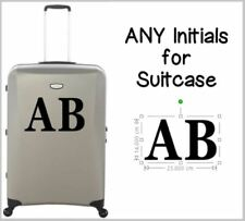 Suitcase Initials, Name Sticker for Suitcase, Suitcase Sticker, Luggage Sticker