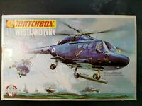"Westland Lynx, ""Anti-Submarine"", Matchbox, Scale:1/72, Kit: PK-108, RARITÄT !"