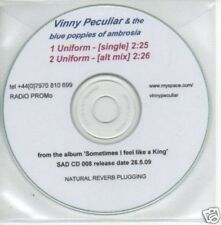(373Q) Vinny Peculiar & The Blue Poppies of Ambr- DJ CD