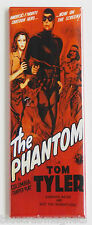 The Phantom FRIDGE MAGNET (1.5 x 4.5 inches) insert movie poster serial lee falk