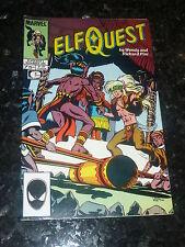 ELFQUEST Comic - Vol 2 - No 4 - Date 11/1985 - MARVEL Comic