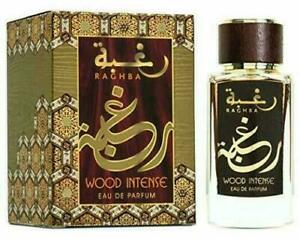 Lattafa RAGHBA Wood Intense Eau de Parfum 100 ml Unisex Free Shipping.