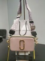 Marc Jacobs Snapshot Small Camera Bag Crossbody Blush Multi - Authentic