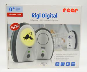 Reer 50070 Babyphone Rigi Digital Überwachung Babyfone Baby Audioüberwachung