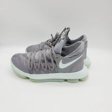New listing Nike Girls Gray Zoom Kd 10 Kevin Durant Sneakers Basketball Shoes Size Us 4.5Y