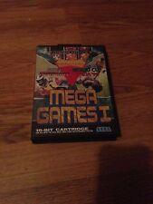 Mega Games 1 Sega Mega Drive Complete PAL TESTED AND WORKING